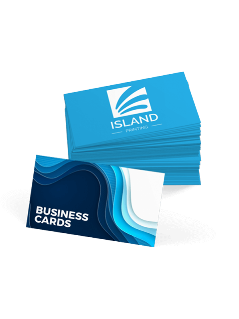 A Custom Stack Of Business Cards